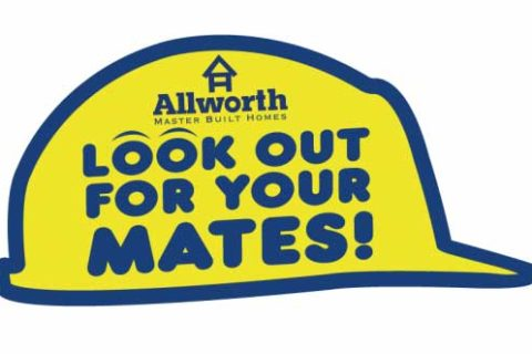 Allworth Homes. Look out for your mates campaign.