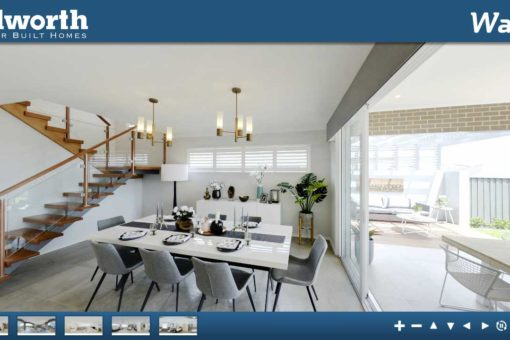 Allworth Homes. 3D Virtual Home Tours