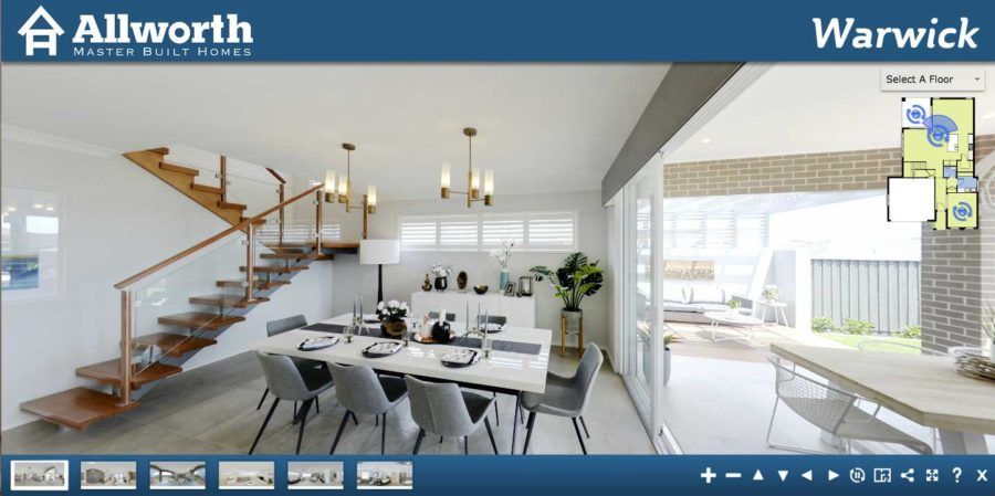 Allworth Homes   3D virtual home tours now available on our website!