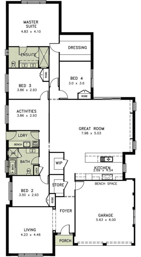 Sonoma Allworth Homes Perfect For First Home Buyer Or