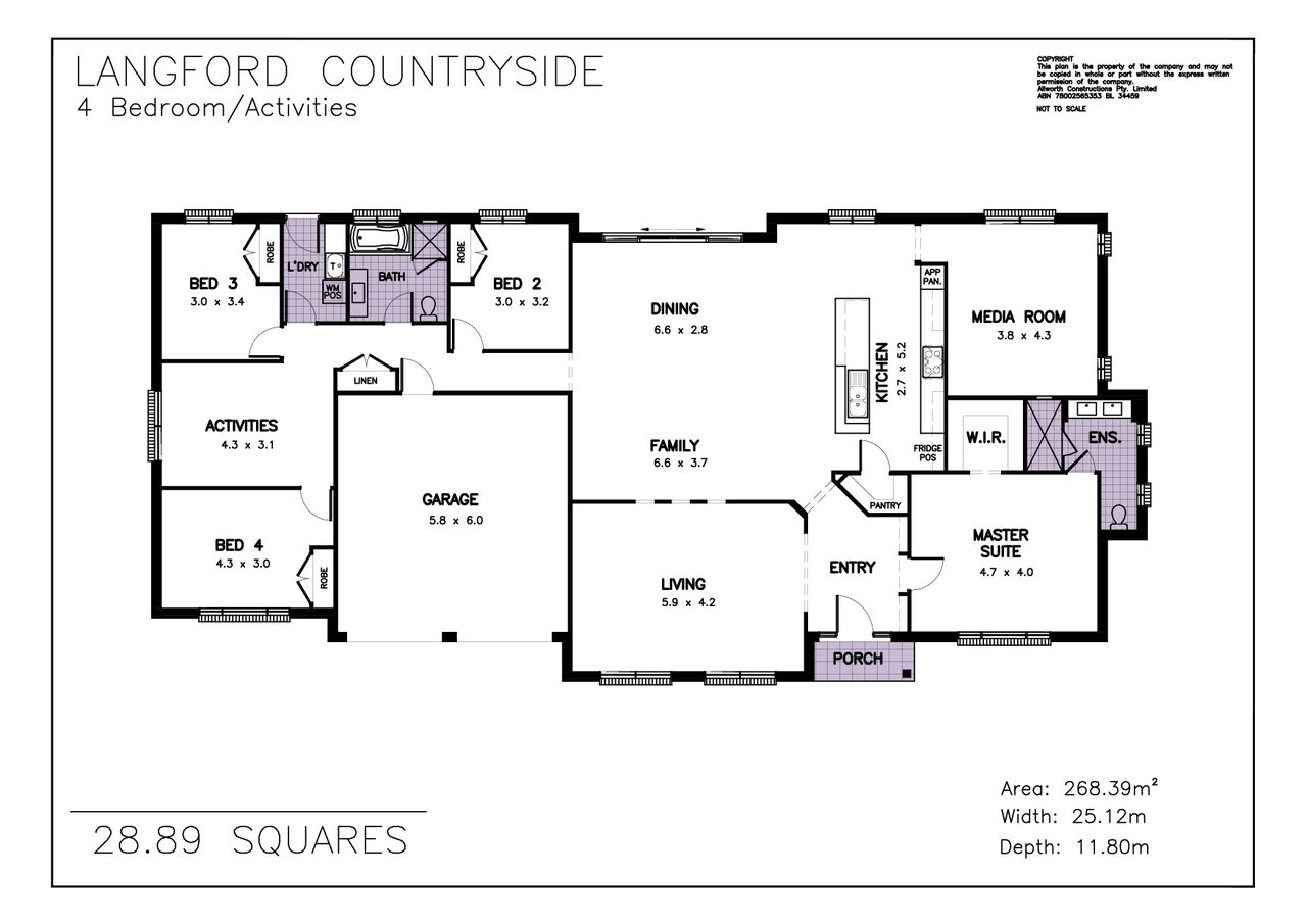 Langford Countryside | Allworth Homes - Suits acreage lots or ...