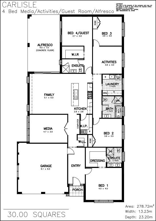Completely new Carlisle | Allworth Homes - Resort style living, modern design  EC52