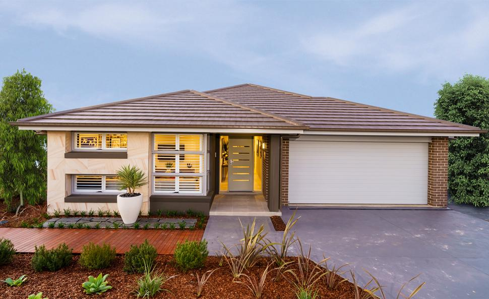Newbury allworth homes loaded with modern design features for Allworth home designs