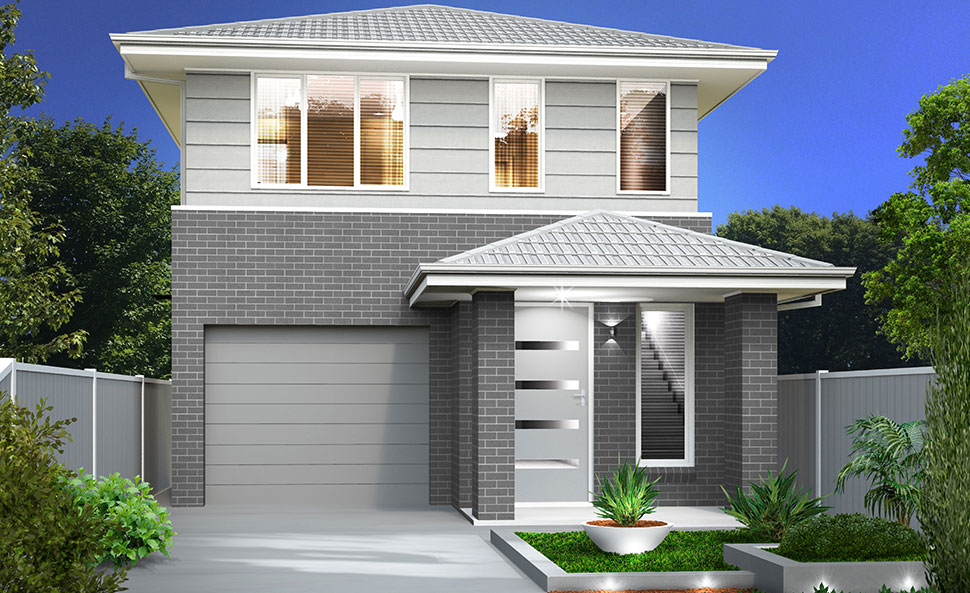 Cosmo Allworth Homes Cosmo Double Storey To Suit 9m