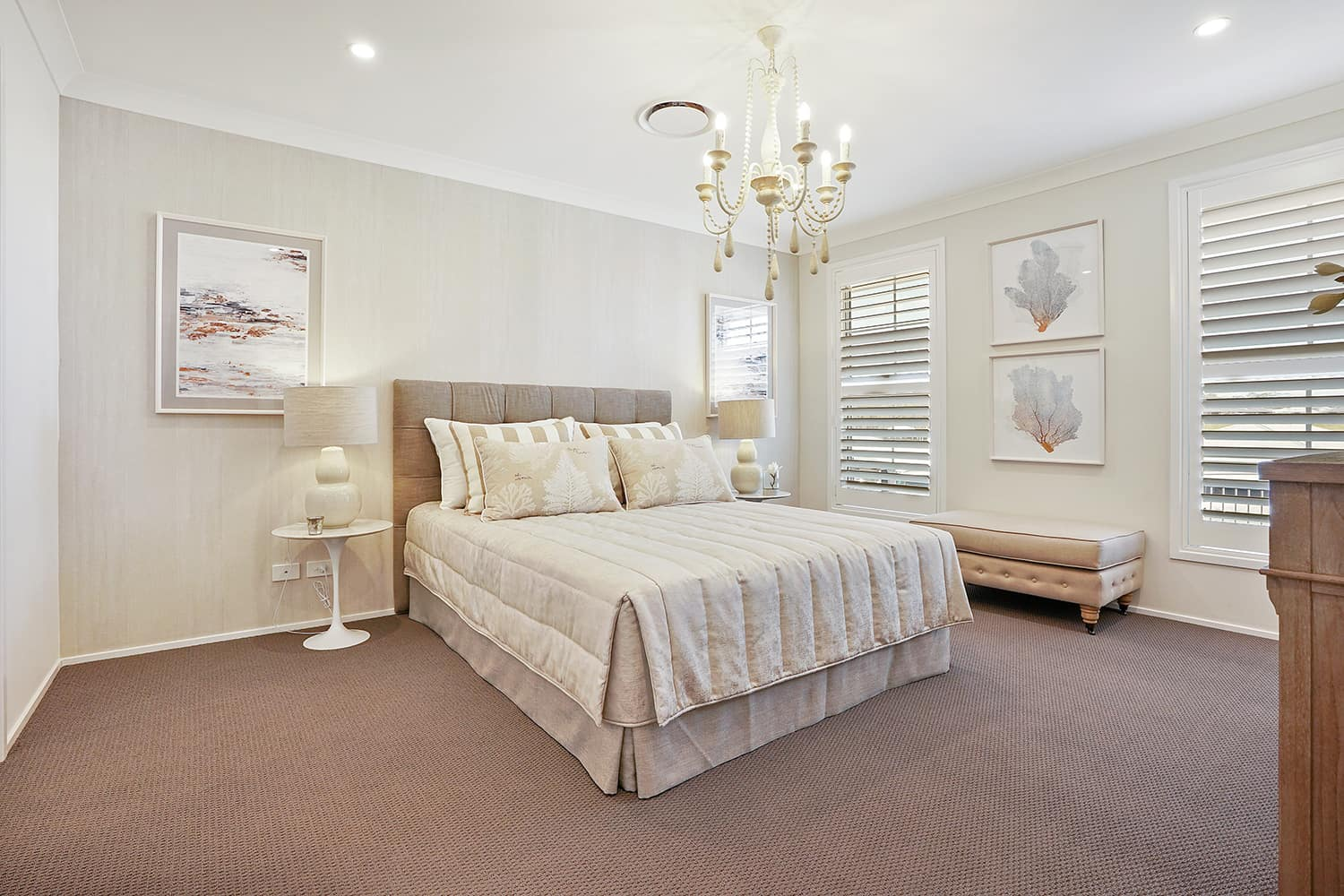 Harmony Four 23 - Main bedroom image. On display at Housing World Nowra