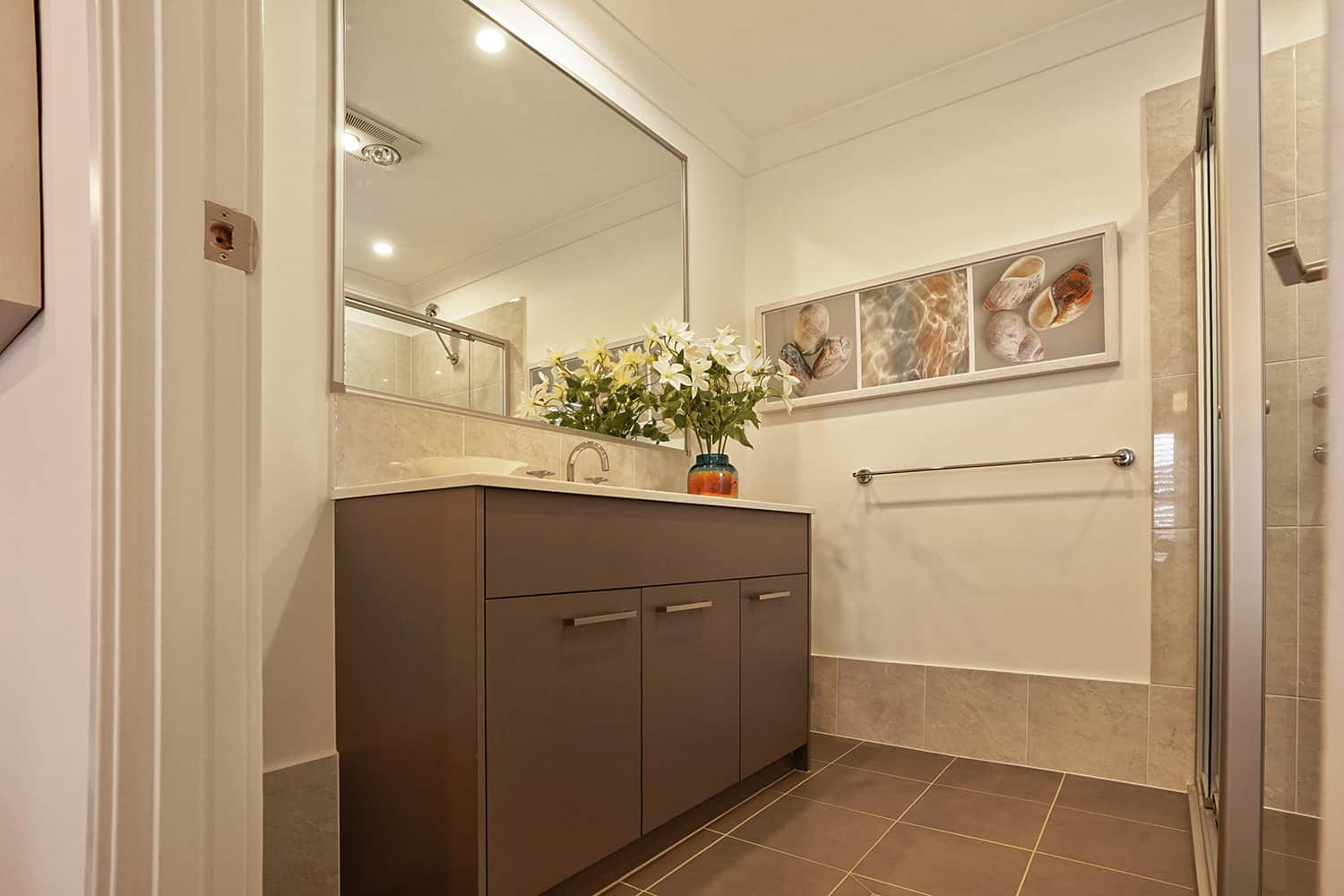Harmony Four 23 - Ensuite image. On display at Housing World Nowra