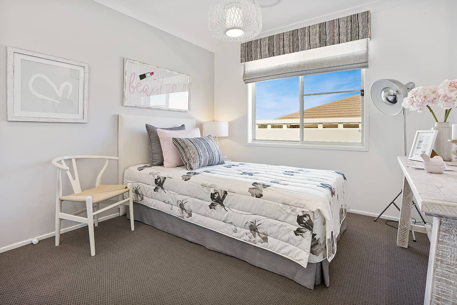 Harmony Four 23 - Bedroom image. On display at Housing World Nowra