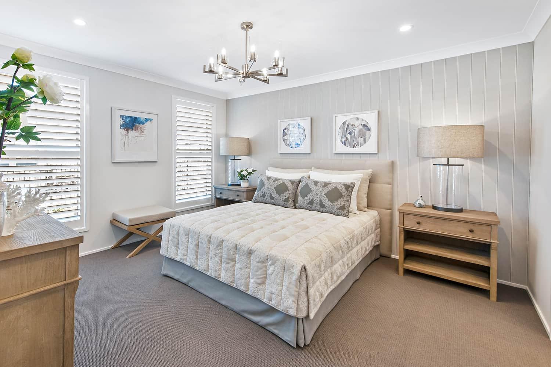 Harmony 12.5 Four - Main bedroom image. On display at HomeWorld Marsden Park