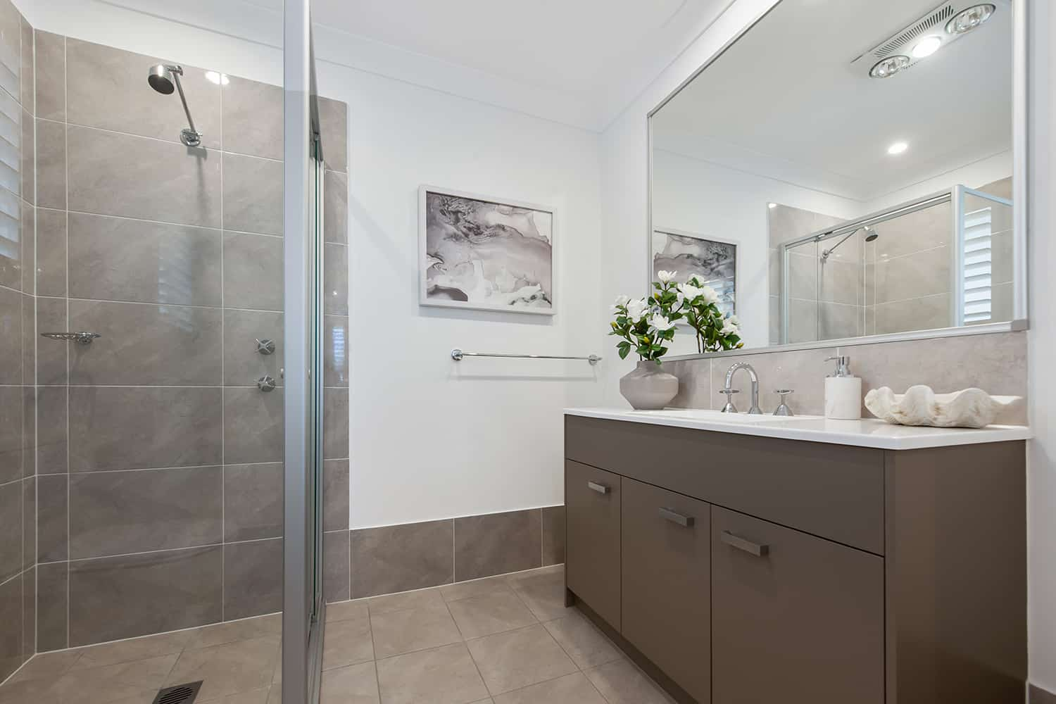 Harmony 12.5 Four - Ensuite image. On display at HomeWorld Marsden Park