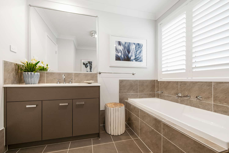 Harmony 12.5 Four - Bathroom image. On display at HomeWorld Marsden Park