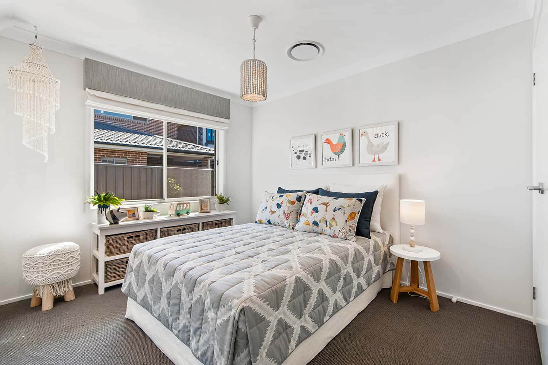 Harmony 12.5 Four - Bedroom image. On display at HomeWorld Marsden Park
